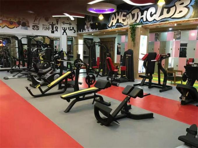 China gym equipment factory development status