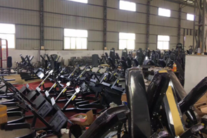 Guangzhou fitness equipment manufacturer 28000m2 production area.