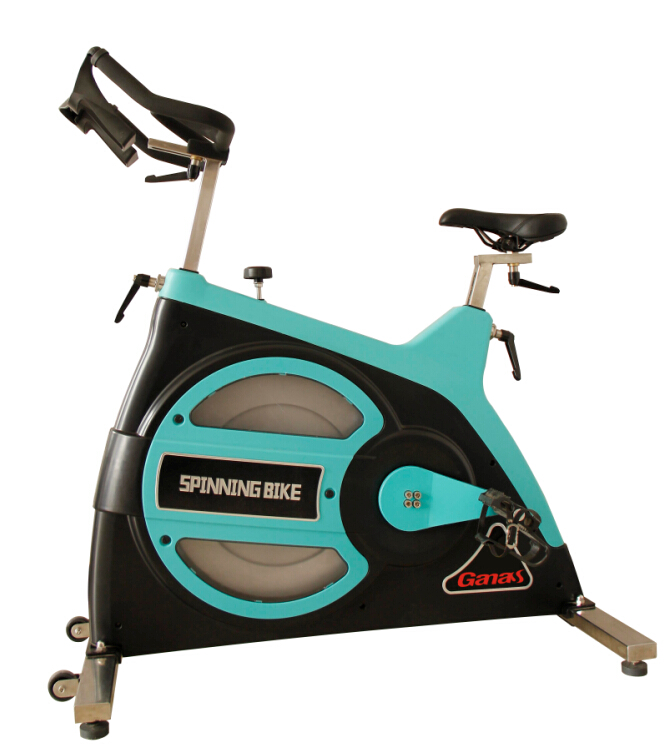 KY-2002 commercial spinning bike (black and blue)