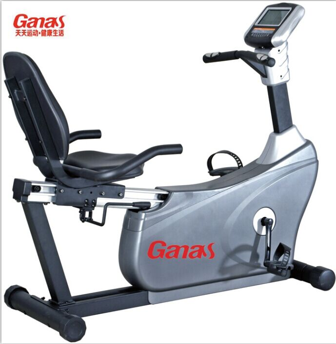 Luxury on a stationary bike