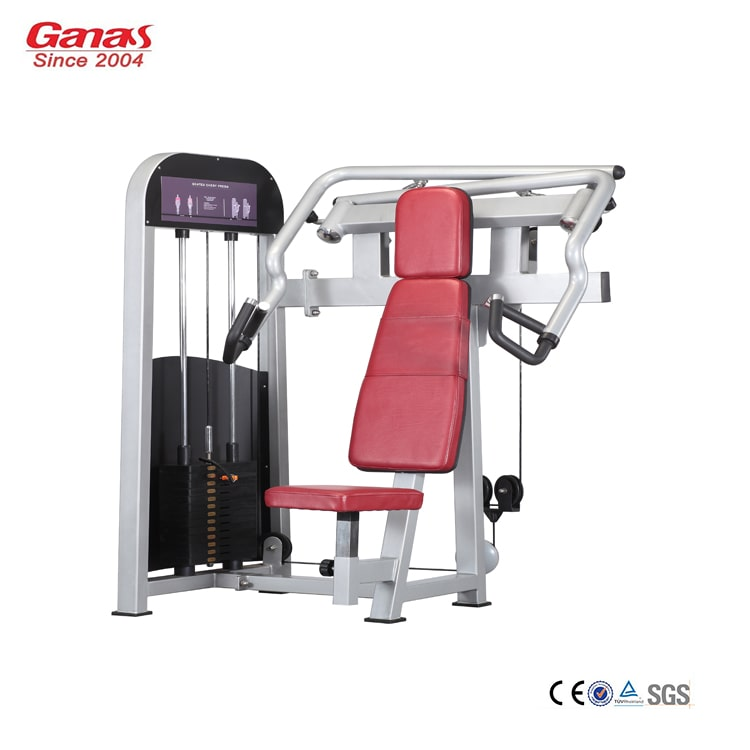 Commercial Exercise Equipment Brands: Incline Chest Press MT-6003 -China Commercial Gym