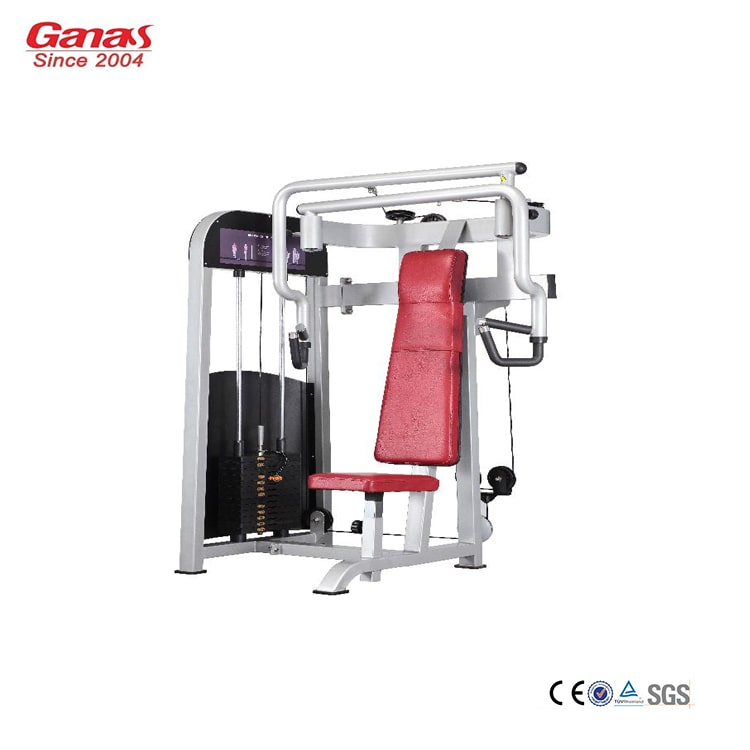 Commercial Gym Equipment Suppliers: Seated Chest Press MT-6006-China Commercial Gym Equipment