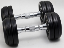 Ganas Gym fitness equipment Professional Dumbbells KY-9001