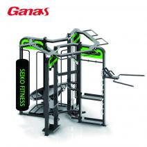 Ganas synrgy 360 multi station crossfit rack gym equipment