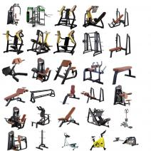 600㎡ commerical complete gym equipment package