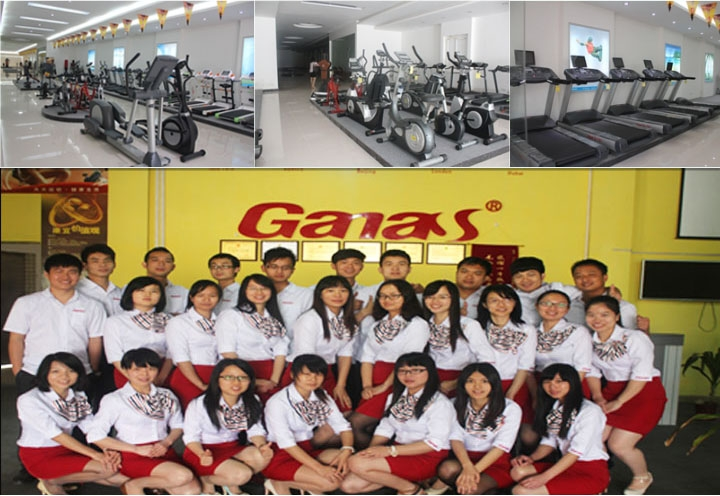 Ganas Fitness Equipment Factory_Treadmill_Strength Machine_Gym Equipment